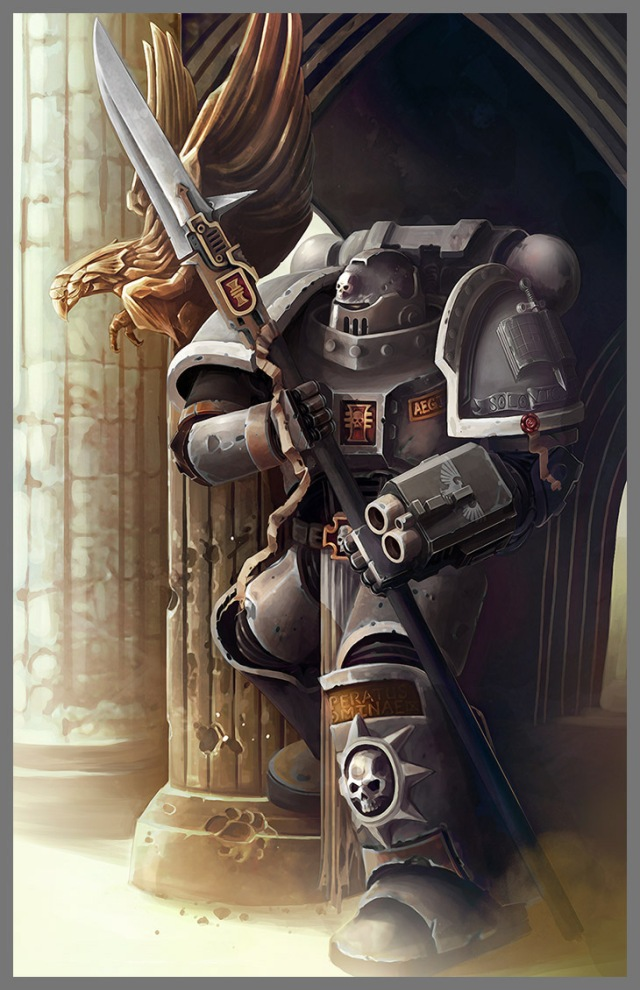 Grey Knight warrior